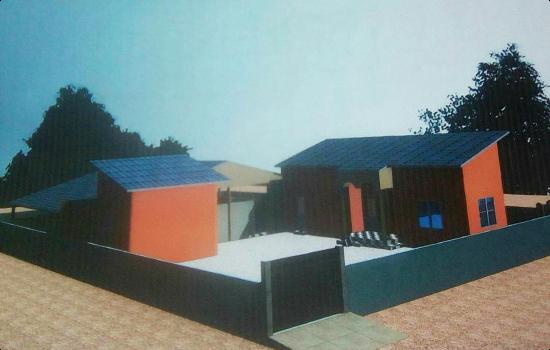 3D Farm House model