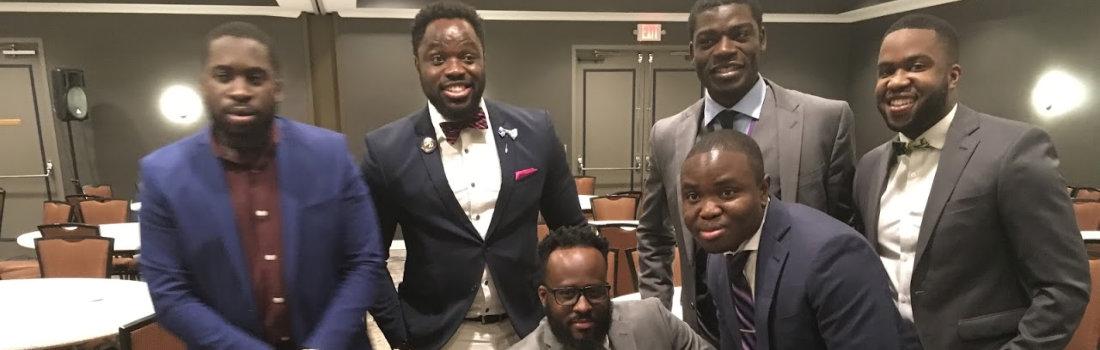 african american men smiling